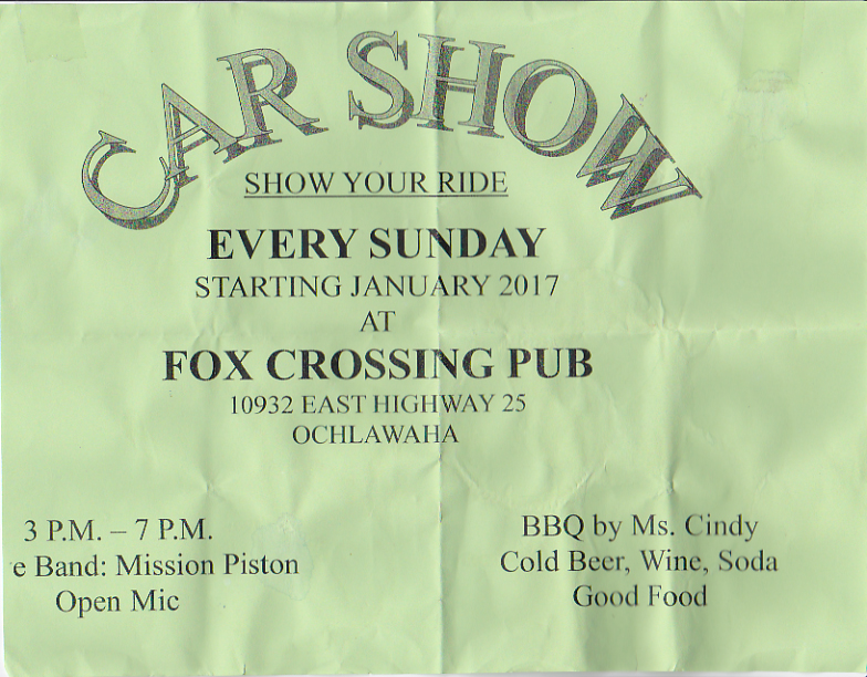 Sunday Jam @ Fox Crossing Tavern